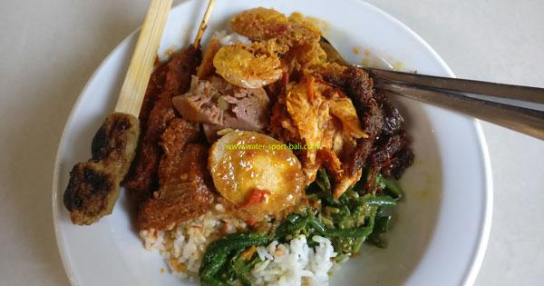 Menu Makanan Nasi Campur Warung Wardani