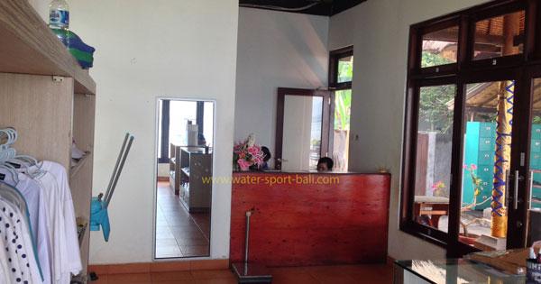 Reception Counter Odyssey Submarine Bali