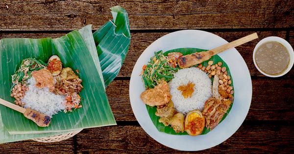 Menu Nasi Bali Tempoe Doeloe - 5 Tempat Makan Favorit Di Denpasar