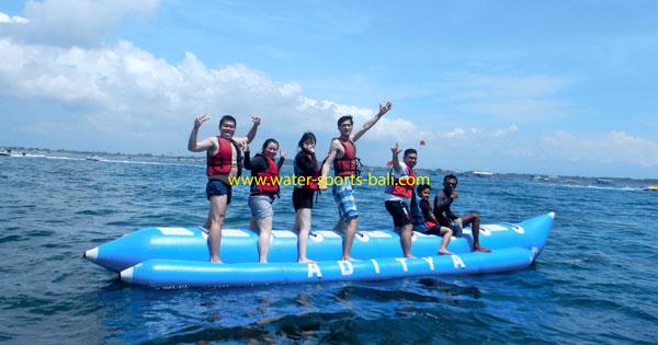 Banana Boat Watersport Di Tanjung Benoa