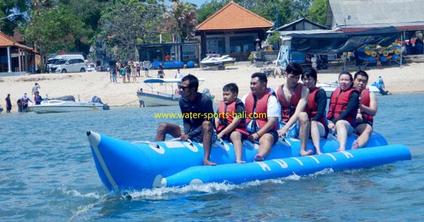 Harga Permainan Banana Boat Di Bali