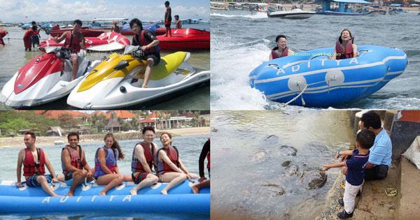 Paket Wisata Bahari Tanjung Benoa Bali