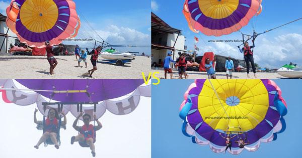 Perbedaan Parasailing Dan Parasailing Adventure Di Tanjung Benoa Bali