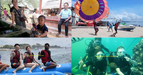 Tarif Paket Wahana Tanjung Benoa Bali