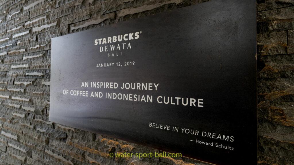 Tanggal Buka Starbucks Dewata Coffee Sanctuary