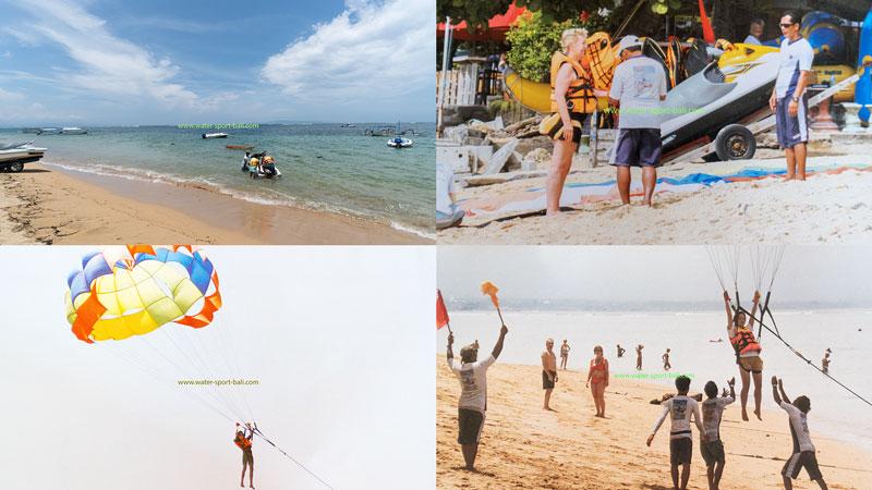 Parasailing Pantai Sanur Bali