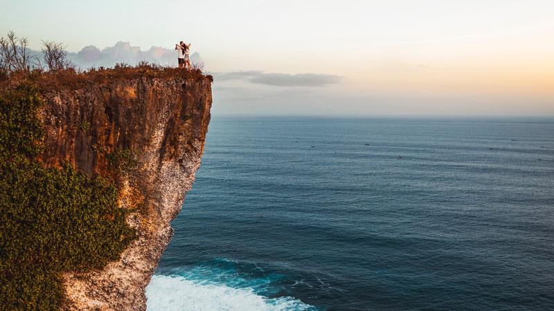 Tebing Karang Boma Uluwatu Bali
