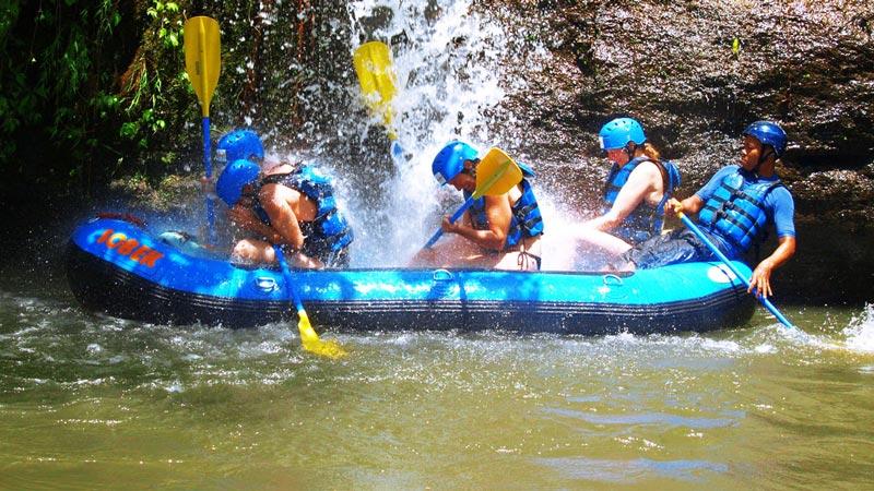 Jeram Sungai Rafting Kelas 1