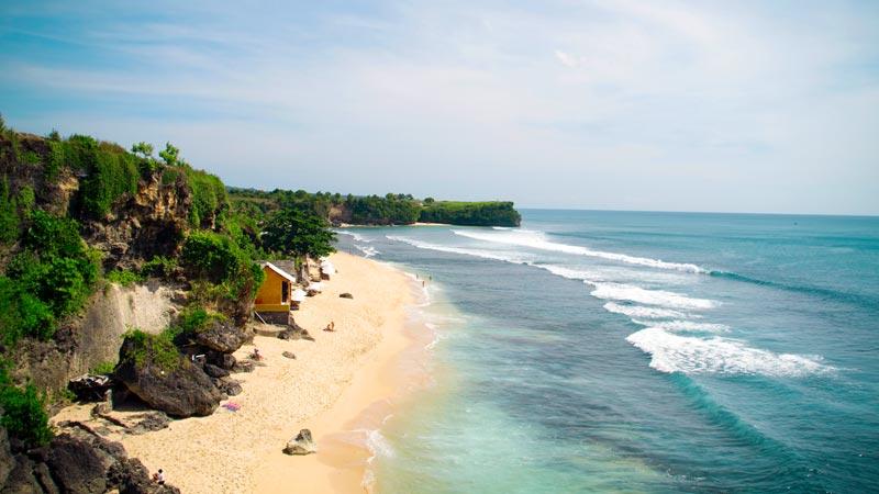 Pantai Balangan - Pantai Terbaik Di Bali Untuk Honeymoon