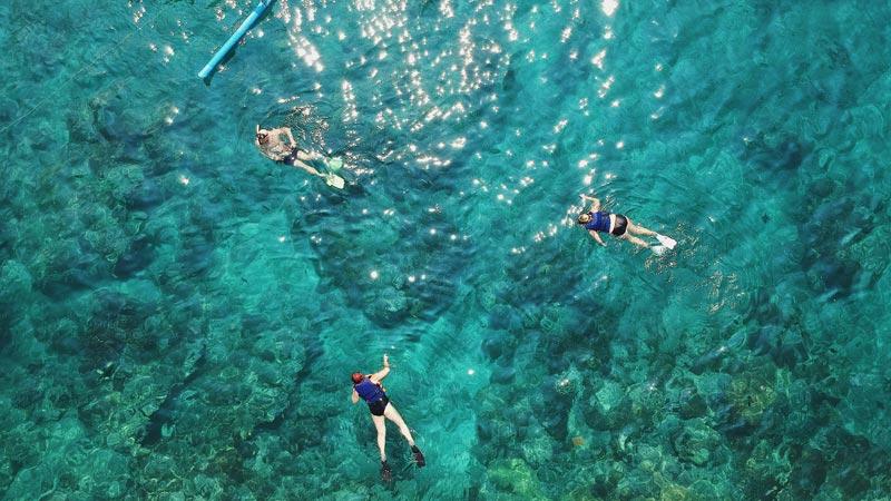 Pantai Blue Lagoon Bali Snorkeling