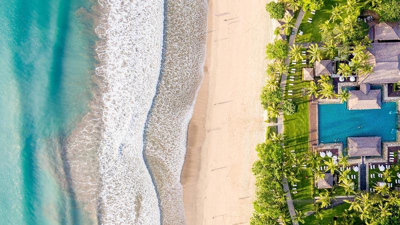Pantai Intercontinental Resort Jimbaran Bali - Pantai Terbaik Di Bali Untuk Honeymoon