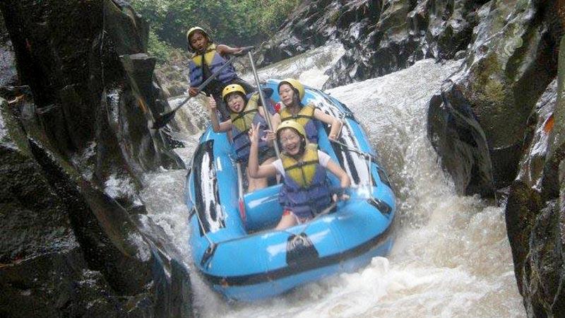 Tingkat Kesulitan Jeram Melangit River Klungkung