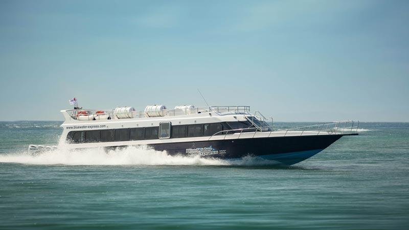 Fast Boat Bluewater Express - Cara Terbaik Ke Gili Trawangan Dari Bali