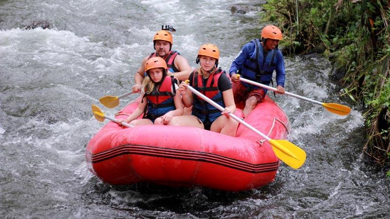 BMW Rafting Sungai Telaga Waja Karangasem