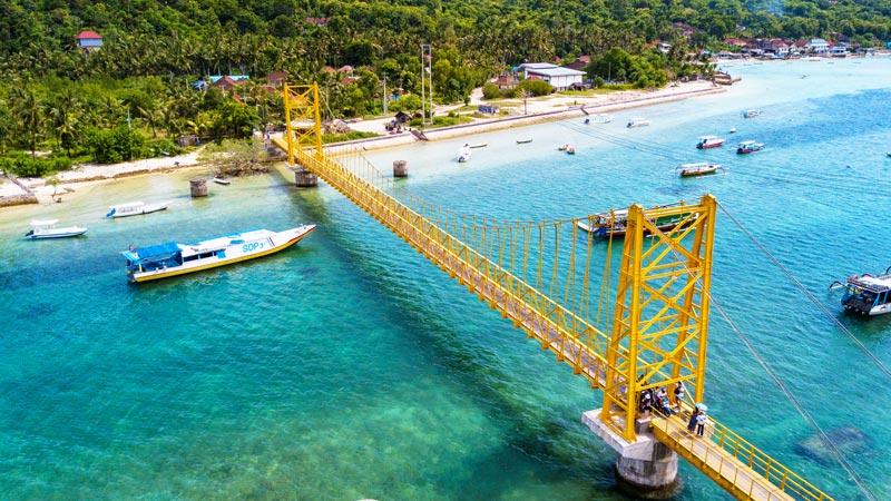 Yellow Bridge Nusa Lembongan Bali