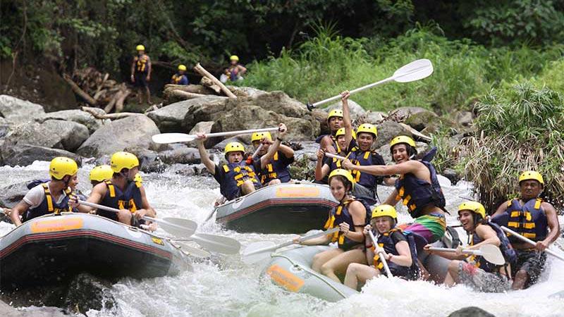 Sungai Ayung Ubud Cocok Untuk Pemula