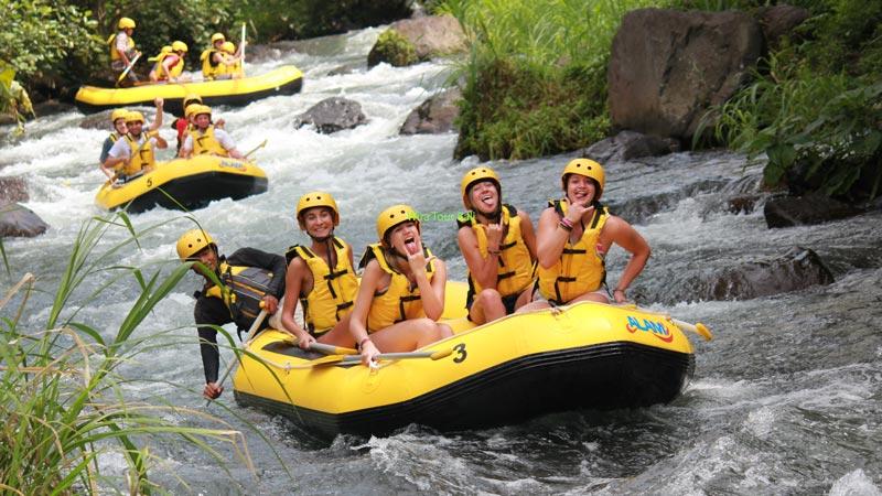 Aktivitas Alam Rafting Telaga Waja