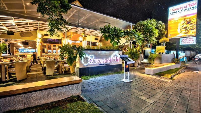Restoran Queen's of India Nusa Dua