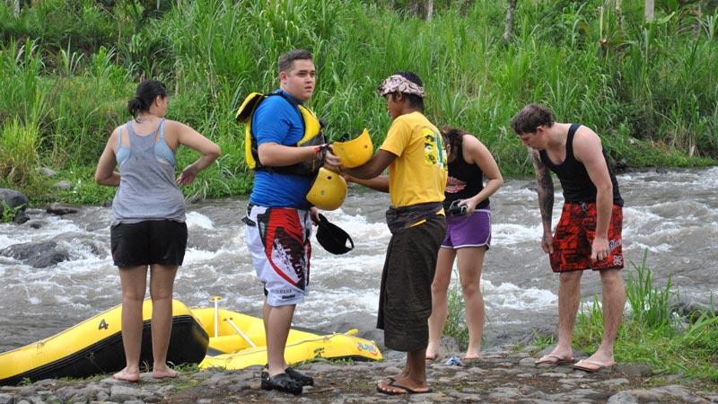 Telaga Waja Rafting Finish Point