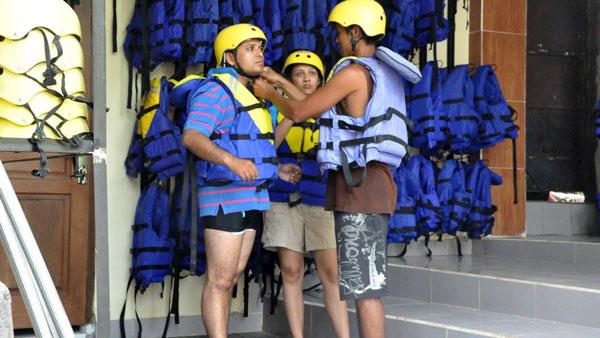 Bakas Levi Melangit River Rafting Bali